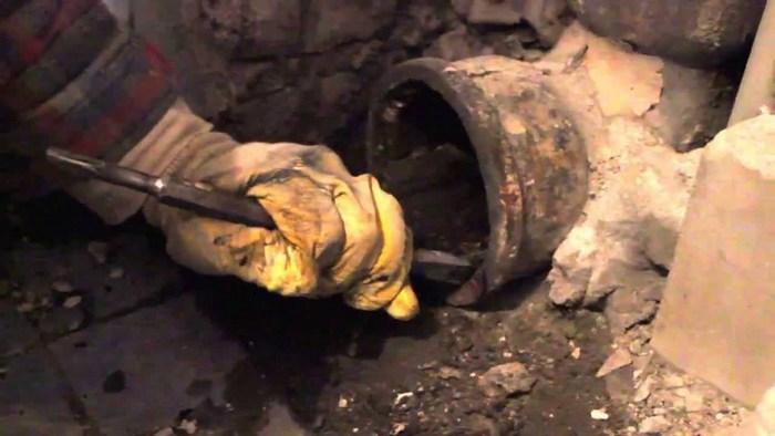 гофра от унитаза к канализации