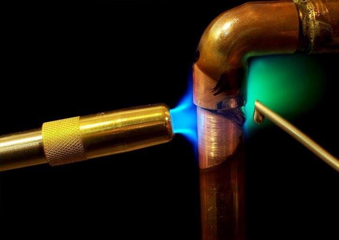 как варить трубы
