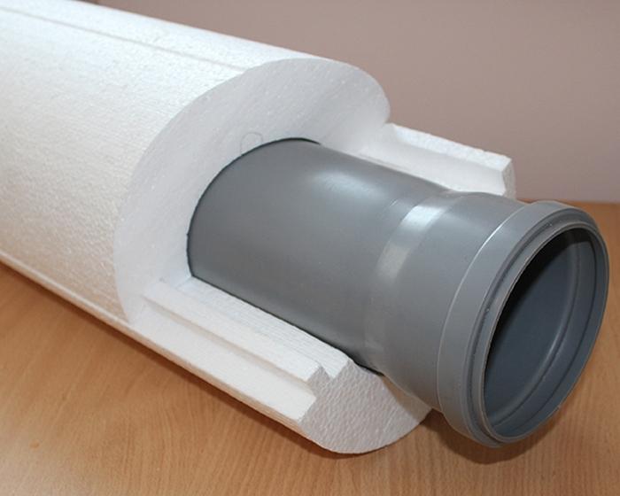утеплитель на канализационные трубы