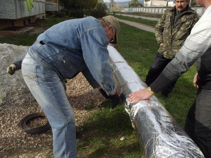 утеплитель для трубы водоснабжения