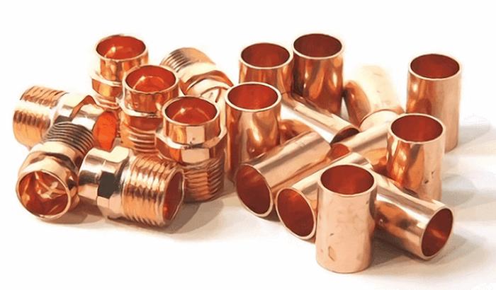 фитинги для медной трубы