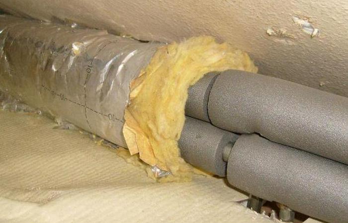 утеплитель для трубы водопровода