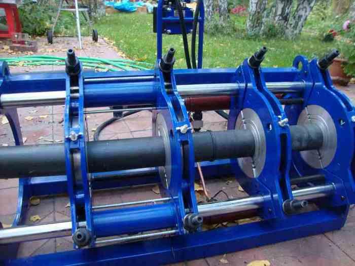 сварочный аппарат полиэтиленовых труб