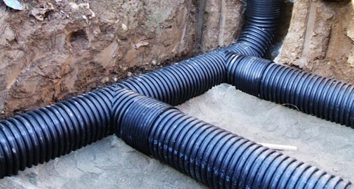 наружные трубы для канализации