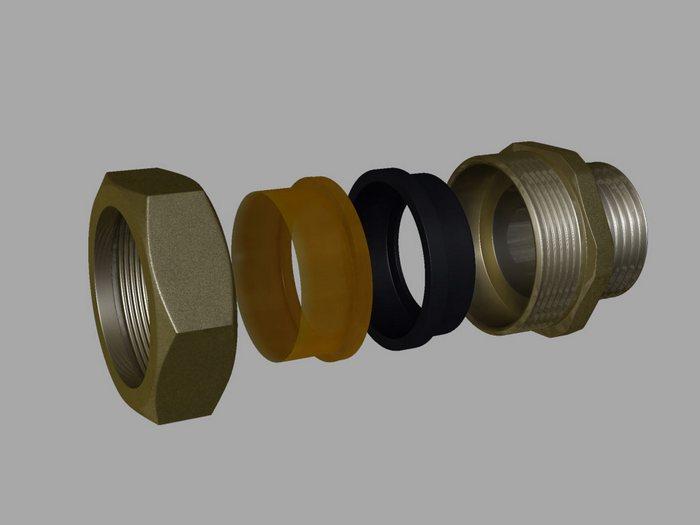 муфтовые соединения трубопроводов