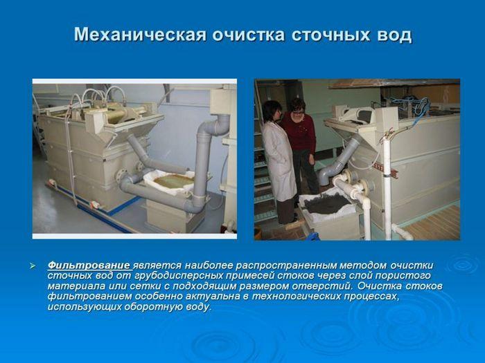 лаборатория для анализа воды