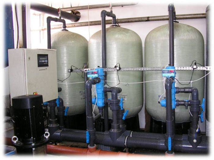 система фильтров для очистки воды