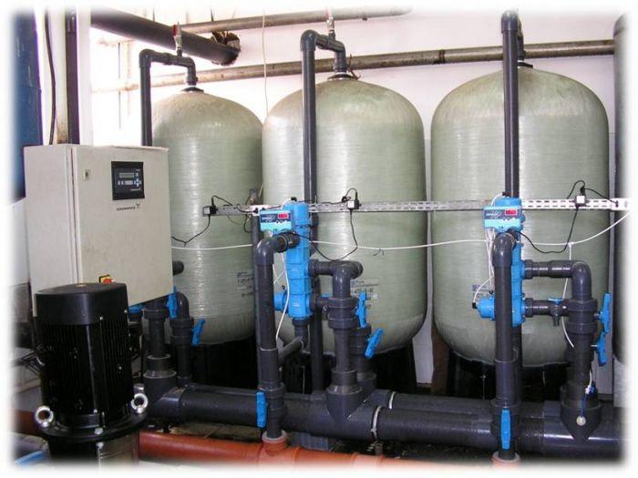 очистка воды от сероводорода