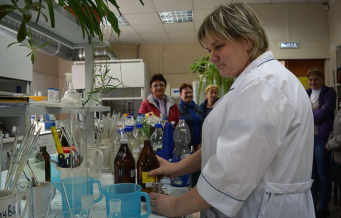 химический анализ сточных вод