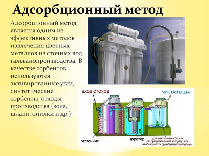 химические и физические методы очистки сточных вод