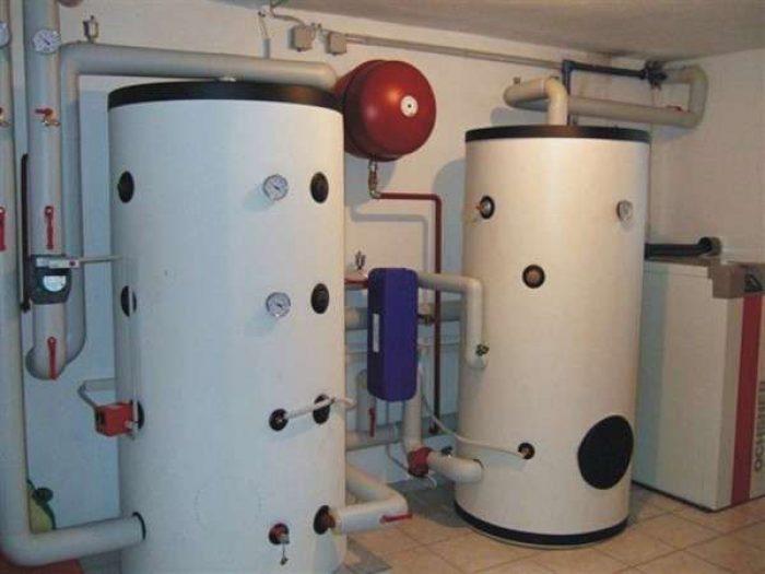 бак аккумулятор для системы отопления
