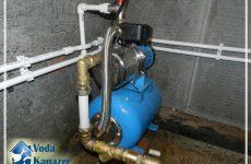 водоснабжение частного дома из колодца своими руками