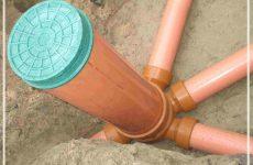 дренажный колодец для ливневой канализации
