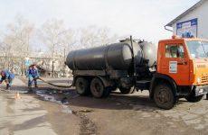 откачка канализационных колодцев