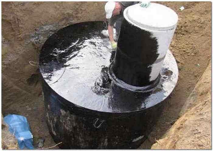 гидроизоляция бетонных колец