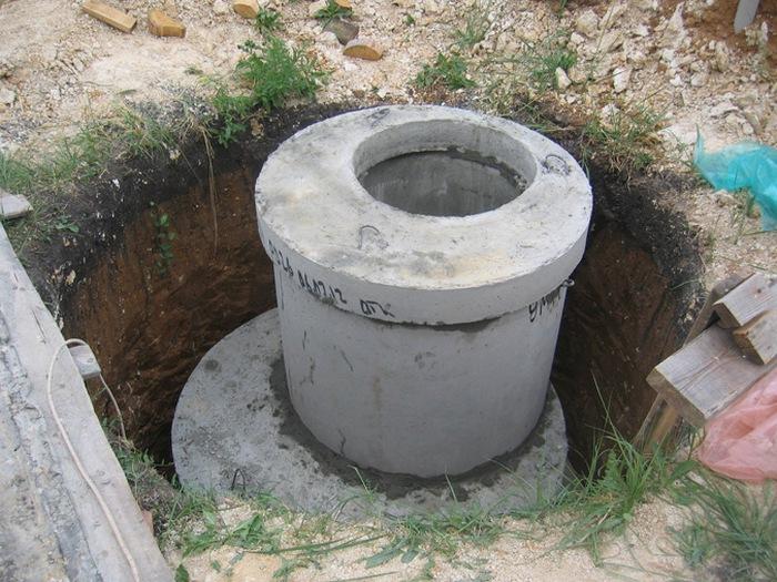 септик из бетонных колец своими