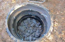 выгребная яма из покрышек
