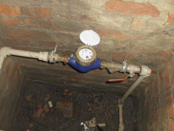 счетчики воды в частном доме