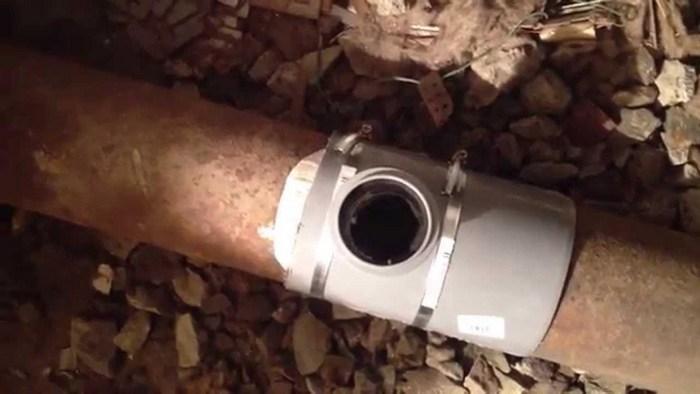 врезка канализационная