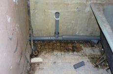 замена канализационных труб