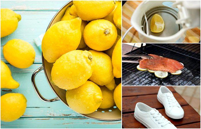 как применять лимон в быту