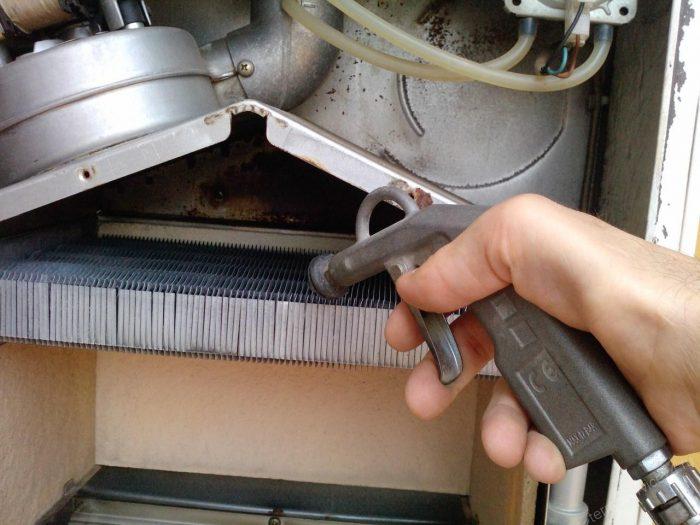агрегат не греет воду