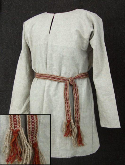 русская рубаха из льна