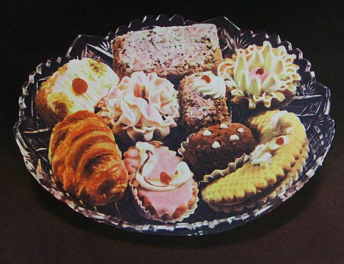 советские пироженные