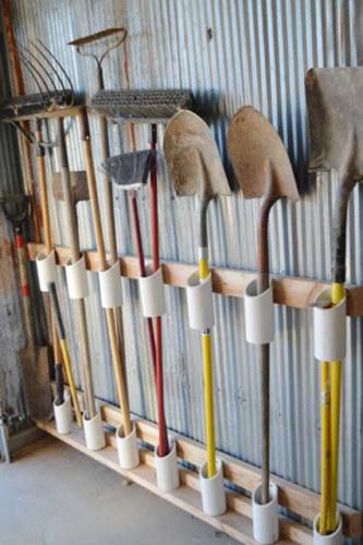 хранение инструментов на даче