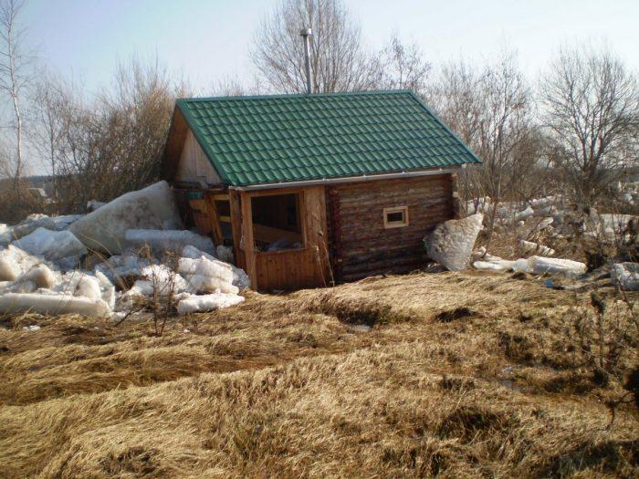 Баня на загородном участке
