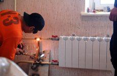 замена батареи отопления