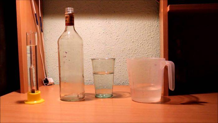 делаем водку из спирта
