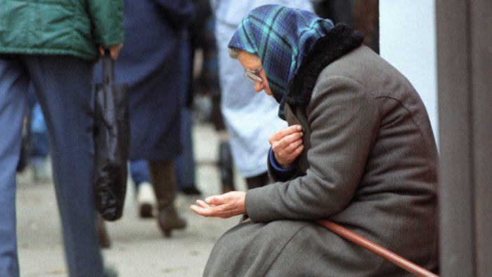 бедность пенсионеров