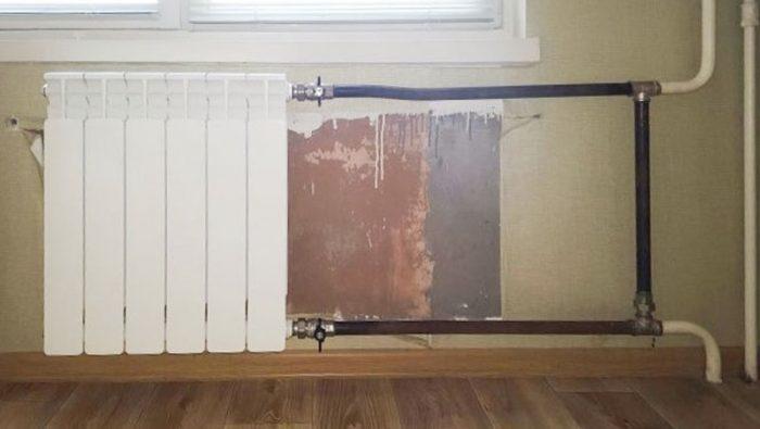 за чей счет меняют батареи в квартире