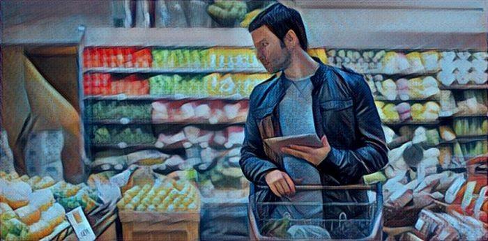 привычки богатых в супермаркете
