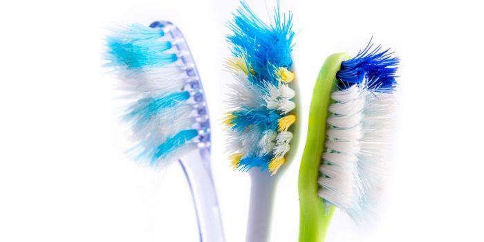 замена зубной щетки