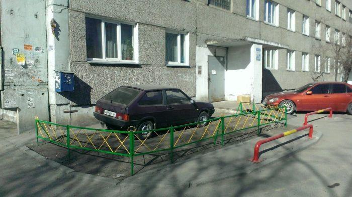штраф за парковку у дома