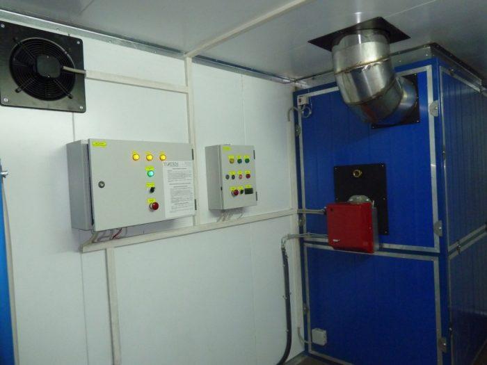 теплогенераторы для воздушного отопления