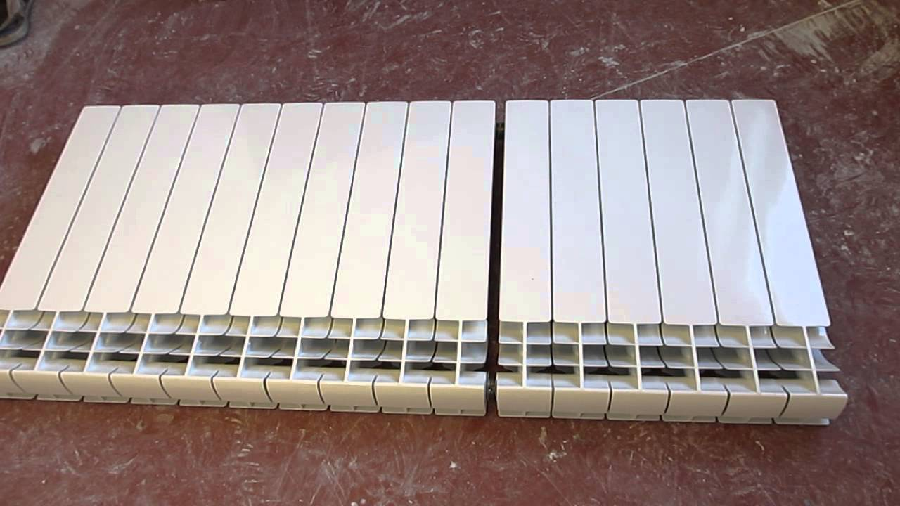 Наращивание секций биметаллических радиаторов отопления