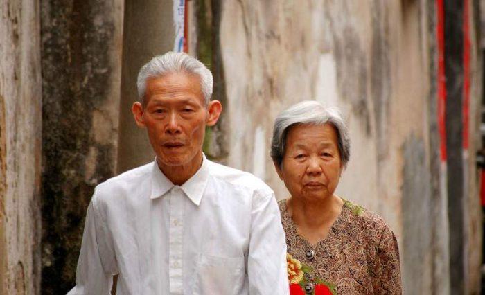 какие пенсии в Китае