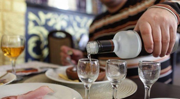 запрет на распитие спиртного