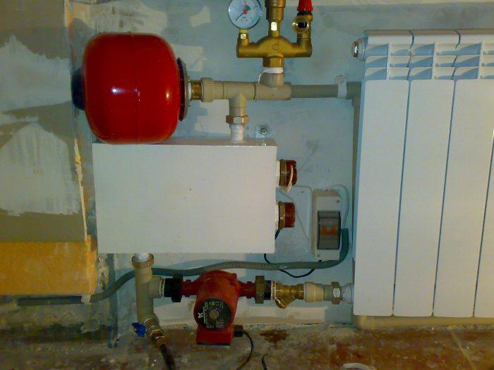 водяное электрическое отопление