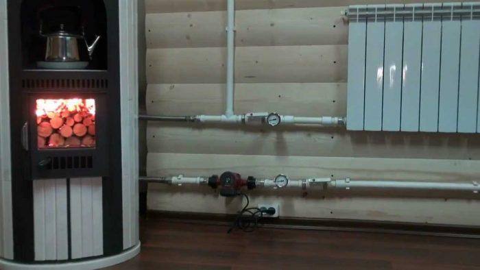отопление с водяным теплоносителем
