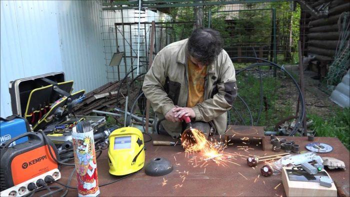 процесс изготовления тэнового котла