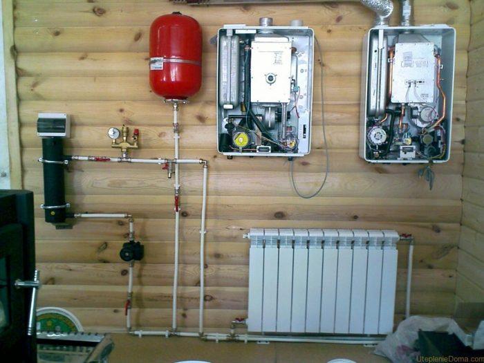 гибридное или совмещенное отопление