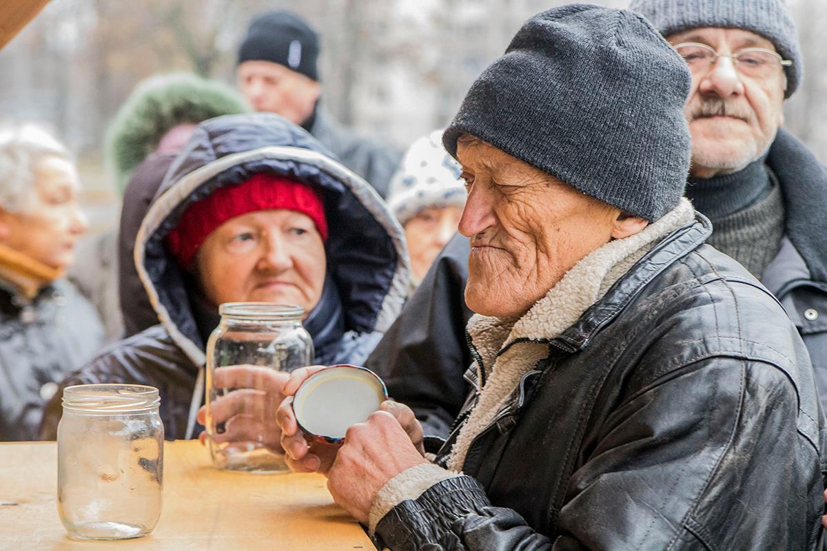 что старики просят милостыню россия фото решили разнообразить