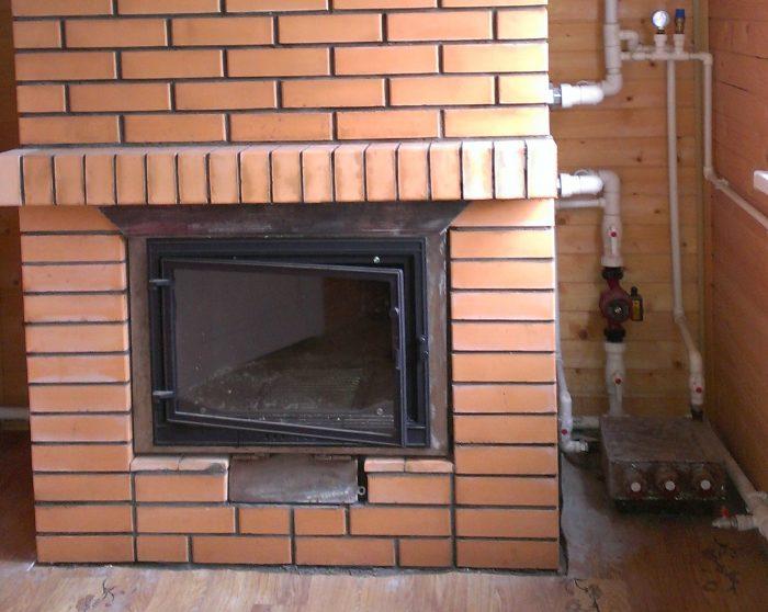 печь для дома с водяным контуром
