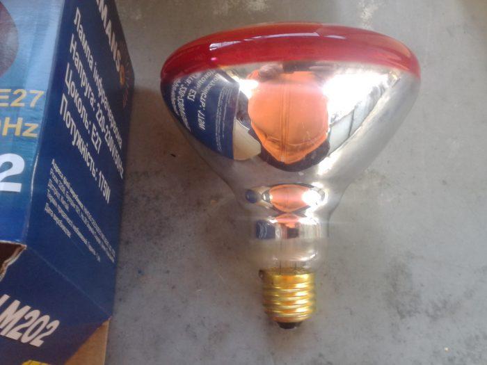 инфракрасные лампы для обогрева жилого помещения