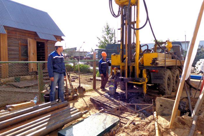монтаж геотермального оборудования