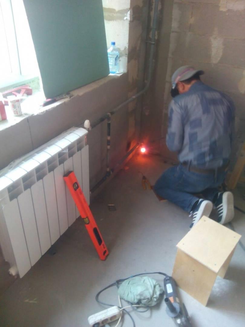 замена стояка отопления в квартире